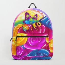 1997 Neon Rainbow Beelzebub Backpack