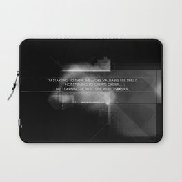 Order vs Disorder Laptop Sleeve