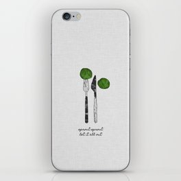 Sprout Sprout, Vegan, Vegetarian iPhone Skin