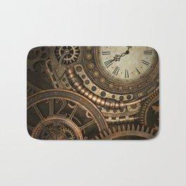 Steampunk Clockwork Bath Mat