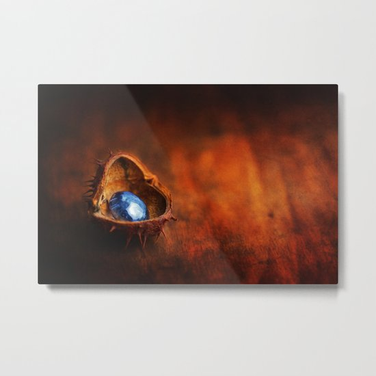 Jewel of the Fall Metal Print