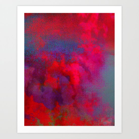 Untitled 20110817n (Cloudscape) Art Print