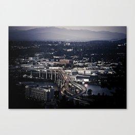 """ Portland "" - Print Canvas Print"