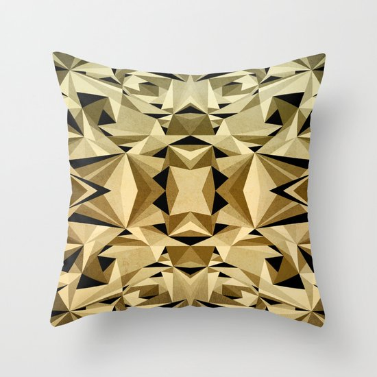 ABSTRACTION ARTDECO Throw Pillow