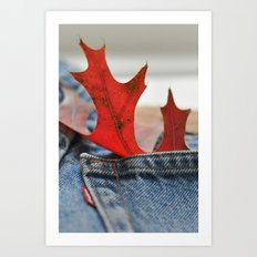 Autumn Levi's Art Print