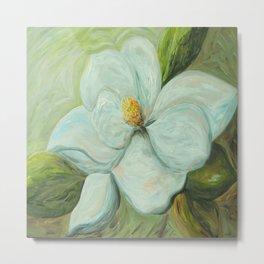 Spring's Magnolia Metal Print