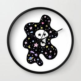 Skull on the sky Wall Clock