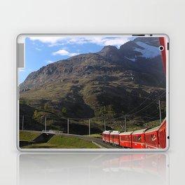 View from the Bernina Express Laptop & iPad Skin
