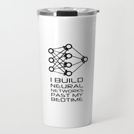 Neural Network - Machine Learning Travel Mug