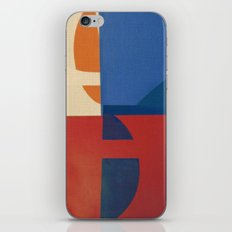 Sailing in a Sea of Doubts iPhone Skin