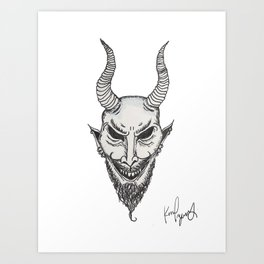 lil Devil Art Print