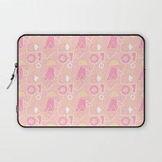Graze Maze Peach Laptop Sleeve
