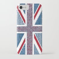 uk iPhone & iPod Cases featuring Lovely UK by Anita Ivancenko