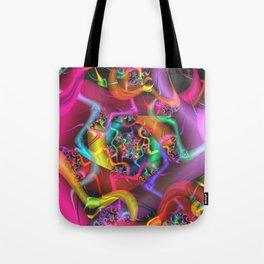 Dance 2 Abstract Fractal Art Tote Bag