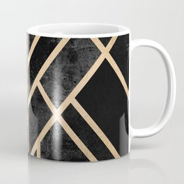 Art Deco Black Coffee Mug