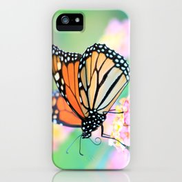 October Monarch iPhone Case
