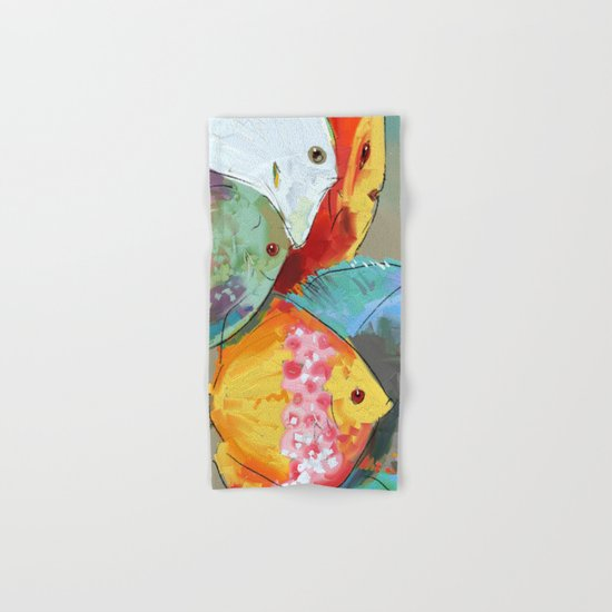 Fish out of Water Hand & Bath Towel