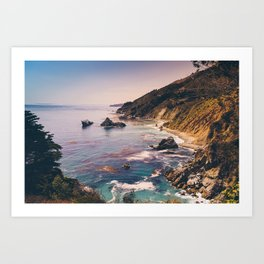 Big Sur Pacific Coast Highway Art Print