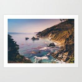 Big Sur Pacific Coast Highway Art Print
