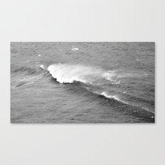 Retro wave Canvas Print