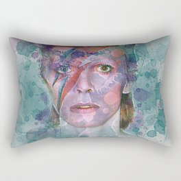 David Bowie Rectangular Pillow
