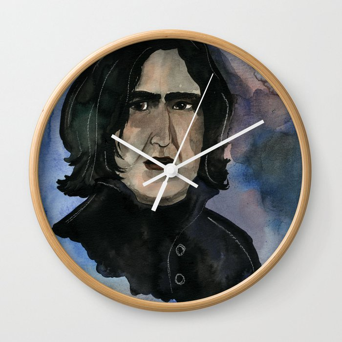 Severus Snape Always Wall Clock