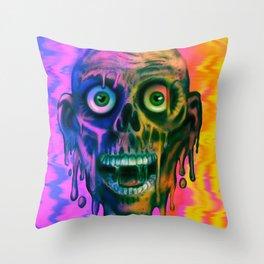 Tar Man Throw Pillow