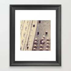 Cafeteria Venice Italy Travel Photography Framed Art Print