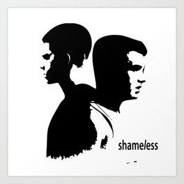 Shameless Ian Gallagher and Mickey Milkovich Art Print