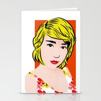 popart Stationery Cards featuring popart  by Biansa Naiyananont