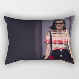 Birth of a Badass Rectangular Pillow