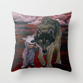 Imposter Syndrome Throw Pillow