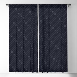 Airliner Aircraft Pattern Blackout Curtain