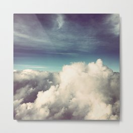 Clouds II Metal Print
