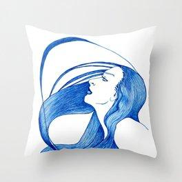 Profile2 Throw Pillow