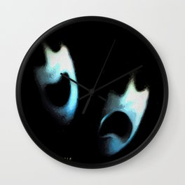 comedy and tragedy redux 2018 Wall Clock