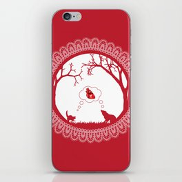 Love Undead Red iPhone Skin