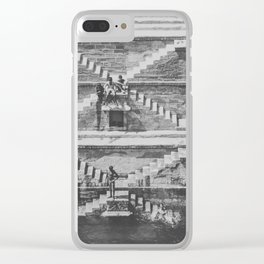 STEPWELL Clear iPhone Case