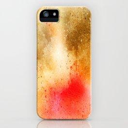 GOLDENRED iPhone Case