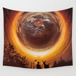 A WORLD OF PEACE Wall Tapestry