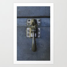 latch Art Print