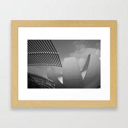 Singapore Architecture 2 Framed Art Print