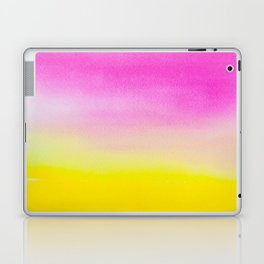 Abstract painting in modern fresh colors Laptop & iPad Skin