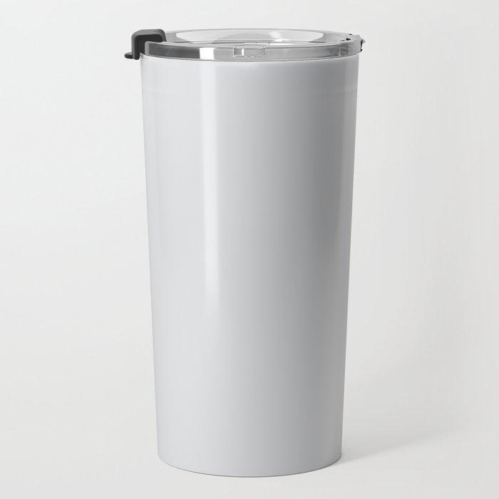 Platinum #E2E3E4 Travel Mug