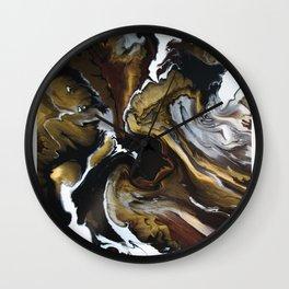 Metallic Storm Wall Clock