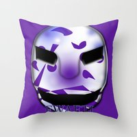 shadow Throw Pillows featuring Shadow  by FWAETI