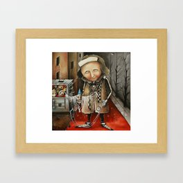 Thief Of Dreams Framed Art Print