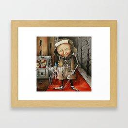 Thief Of Dreams Framed Art Print