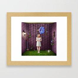 Indoor Gardener Framed Art Print