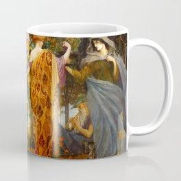 """Walter Crane """"A Masque for the Four Seasons"""" Coffee Mug"""
